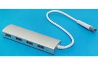 USB 3.1 4/1-PORTTINEN HUBI
