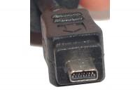 USB 2.0 VÄLIJOHTO A-UROS / KAMERA 8-PIN (NIKON) 1,8m