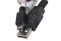 USB-2.0 VÄLIJOHTO A-UROS / microB UROS 1m