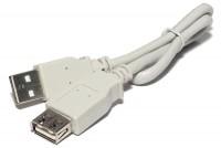 USB-2.0 JATKOJOHTO A-UROS / A-NAARAS 0,3m