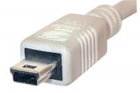 USB 2.0 VÄLIJOHTO A-UROS / miniB 3m