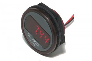 ROUND PANEL MOUNT VOLTAGE MONITOR +6...+75VDC