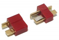 T-SHAPE CONNECTOR PAIR (MALE+FEMALE)