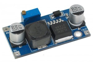 STEP-UP DC/DC-MUUNNIN 1,3-35V 4A (XL6009)