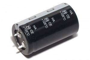 ELEKTROLYYTTIKOND. 10000µF 35V 25x45mm Snap-in
