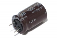 ELECTROLYTIC CAPACITOR 100µF 100V 10x21mm