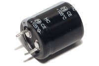 ELECTROLYTIC CAPACITOR 100µF 400V 22x25mm Snap-in