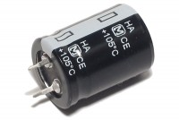 ELECTROLYTIC CAPACITOR 2200µF 50V 22x31mm Snap-in