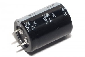 ELECTROLYTIC CAPACITOR 220µF 400V 25x36mm Snap-in