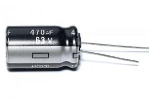 ELEKTROLYYTTIKOND. 22µF 16V 5x8mm