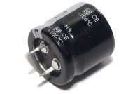 ELECTROLYTIC CAPACITOR 330µF 200V 25x25mm Snap-in