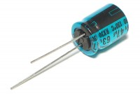 ELECTROLYTIC CAPACITOR 130°C 47µF 63V 10x13mm