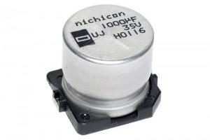 SMD ELECTROLYTIC CAPACITOR 33UF 25V Ø6.3mm