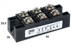 3-PHASE BRIDGE 160A 1600V