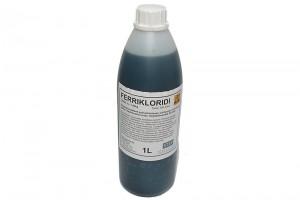 FERRIKLORIDI KUPARILEVYJEN SYÖVYTYKSEEN (1 litran pullo)