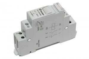 IMPULSE RELAY DIN RAIL MOUNT 24VDC / 250V 16A