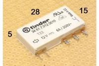 PCB RELAY SPDT 6A 24VDC