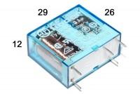 PCB RELAY SPDT 10A 12VDC