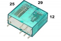 BISTABLE PCB RELAY DPDT 8A 24VDC