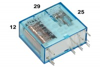 BISTABLE PCB RELAY SPDT 16A 12VDC