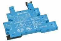 RELAY SOCKET DIN-RAIL 6A