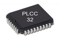 EPROM MEMORY IC 128Kx8 100ns PLCC