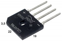 DIODE BRIDGE 4A 800V