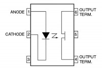 OPTOCOUPLER H11F1 DIP6