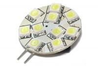 G4-BASE 12V LED LAMP 10 LEDS COLD WHITE