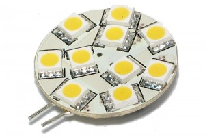 G4-BASE 12V LED LAMP 10 LEDS WARM WHITE