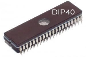 EPROM MEMORY IC 64Kx16 120ns DIP40