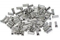 WIRE END TERMINAL 4,0mm2 100pcs