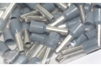 WIRE END FERRULE 4,0mm2 GREY 100pcs