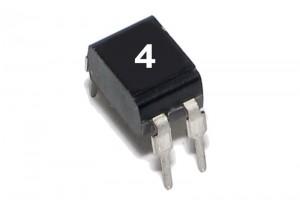 MOSFET N-CH 200V 0,6A 1,0W 1500mohm DIP