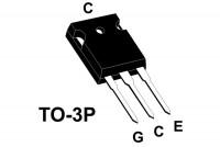 IGBT 600V 55A 200W TO247AC +diode