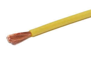 SILICON WIRE 1,50mm2 YELLOW 1m