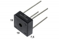 DIODE BRIDGE 10A 1000V