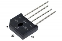 DIODE BRIDGE 8A 1000V