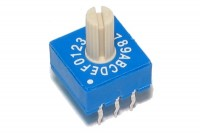 HEX ENCODER ROTARY SWITCH 0..F