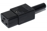 IEC C19 POWER PLUG FEMALE 16A