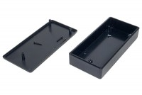 BLACK PLASTIC BOX 29x60x131mm