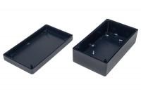 BLACK PLASTIC BOX 45x70x125mm