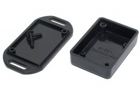 HAMMOND BLACK PLASTIC BOX 15x35x50mm