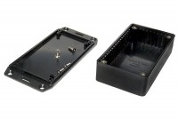 HAMMOND BLACK PLASTIC ENCLOSURE 31x62x112mm