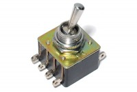 POWER TOGGLE SWITCH DPDT ON/ON