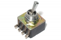 POWER TOGGLE SWITCH DPST ON/OFF