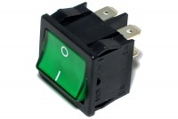 ROCKER SWITCH 2-POLE ON/OFF 6A 250VAC