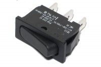 ROCKER SWITCH 1-POLE ON/(ON) 4A 250VAC