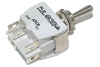 POWER TOGGLE SWITCH DPDT ON/OFF/(ON)