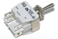 POWER TOGGLE SWITCH DP3T ON/OFF/ON